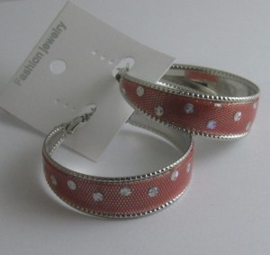 rood met strass